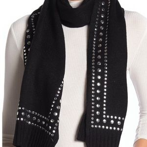 ✨NWT Michael Kors studded scarf and gloves set
